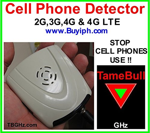 - Slacking at Work ??, use a CellPhone Detector TBGHz : 4G,4G LTE (Bands 13,17,8) .