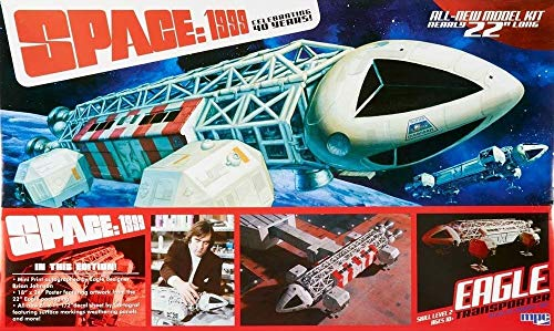 Space 1999 Eagle Transporter Special Edition 1:48 Scale Model Kit MPC874 -