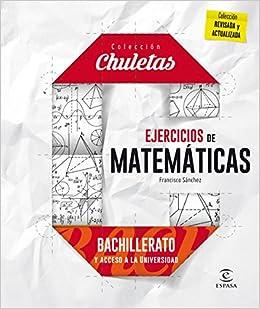 Ejercicios De Matemáticas Para Bachillerato - 9788467044485: Amazon ...