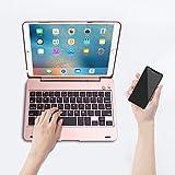 ONHI Wireless Keyboard for iPad Mini Keyboard Case, Folio Flip Smart Cover for iPad Mini 3/ iPad Mini 2/ iPad Mini 1 with Folding Stand,Silent Typing
