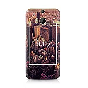 The 1975 The City New York NY Tumblr Hard Plastic Snap-On Case For HTC ONE m8 by runtopwell