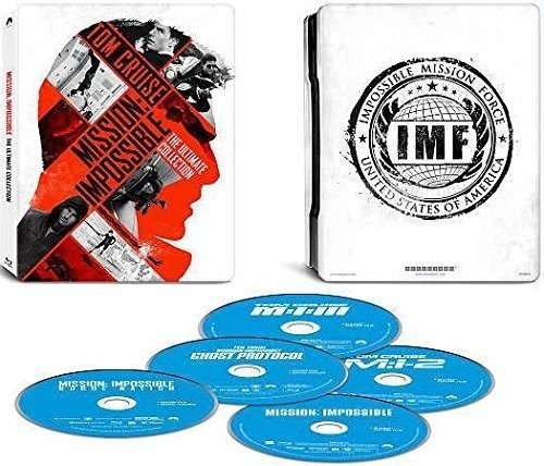 Mission Impossible: The Ultimate Collection With Steelbook [Blu-ray, Digital HD]