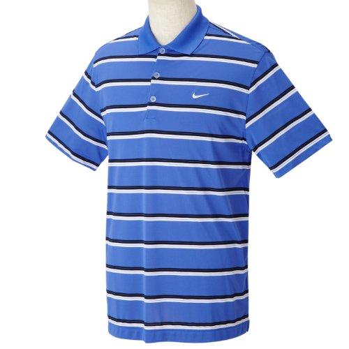 (ナイキゴルフ) NIKE Golf DRI-FIT ウルトラストライプSSポロ