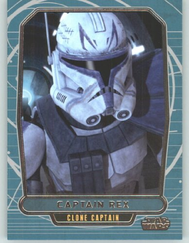 2012 Star Wars Galactic Files #233 Captain Rex (Non-Sport Collectible Trading Cards) from Star Wars