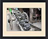 Framed Print of Asia, India, Calcutta. A cart of fresh clay the potter s village of