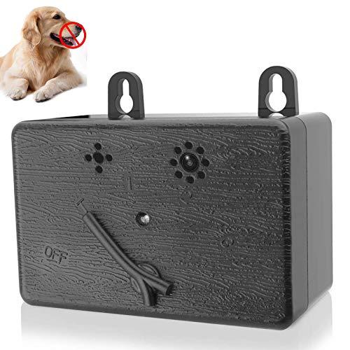 ZHUOEN Anti Barking Control Device, Ultrasonic Dog Bark Deterrent Dog Training Tool Stop Dog Barking Indoor & Outdoor Up…