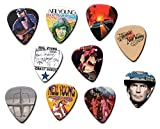 Neil Young (Tribute Edition) Set of 10 Electric Acoustic Guitar Plectrums