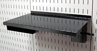 product image for Wall Control Pegboard Shelf 9in Deep Pegboard Shelf Assembly for Wall Control Pegboard and Slotted Tool Board – Black