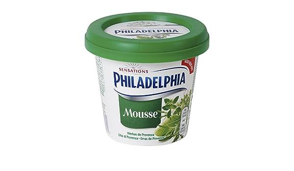 Philadelphia Queso Crema Mousse Hierbas de Provenza - 140 gr: Amazon.es: Alimentación y bebidas