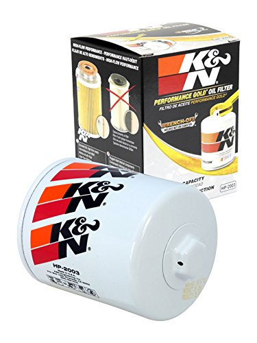 HP-2003 K&N Performance Oil Filter; AUTOMOTIVE (Automotive Oil Filters):