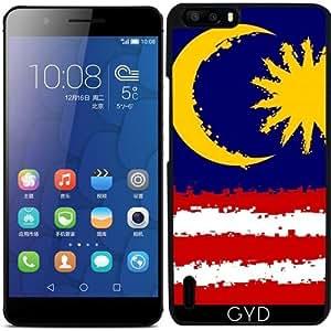 Funda para Huawei Honor 6 Plus - Malasia En 8 Bits by Cadellin
