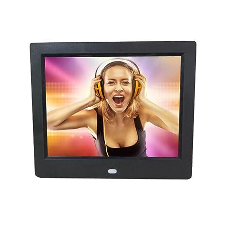 Marco Digital de Foto,STRIR LCD Marco digital para fotos y vídeos Alta Resolución con