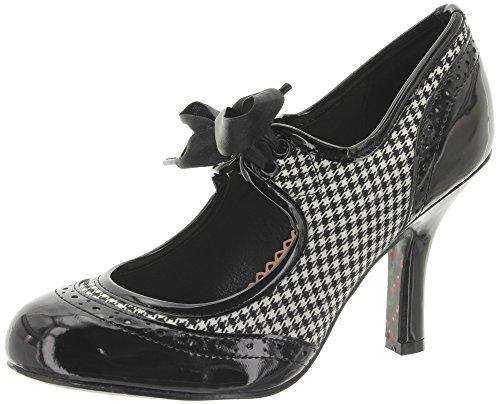 Dancing Days - Zapatos de vestir de Material Sintético para mujer, color naranja, talla 37 EU