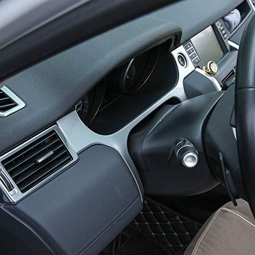 Car interior Instrument Dashboard Decoration Frame Cover Trim 1pc For Land Rover Discovery Sport 2015-2018