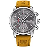 Best Design Watches - BENYAR Fashion Men's Quartz Chronograph Waterproof Watches Business Review
