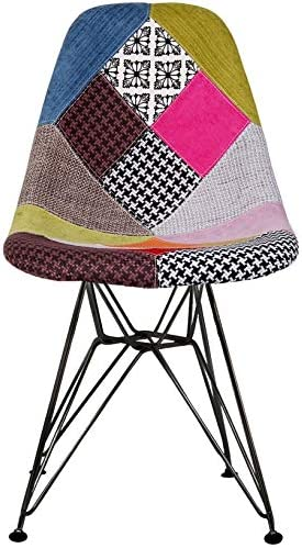 2xhome Metal Dining Chair