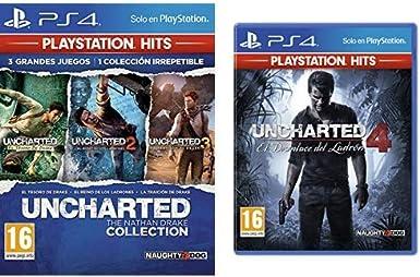 Uncharted Collection Hits - Versión 17 & El Desenlace Del Ladrón ...