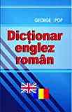Front cover for the book Dictionar român englez by George Pop