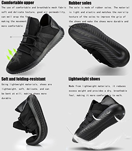 Homme Gym B1681 Femme de Chaussure Sport Fitness Sneakers Blanc de de Multisports Running Outdoor GNEDIAE Chaussures Baskets Course dx1wda
