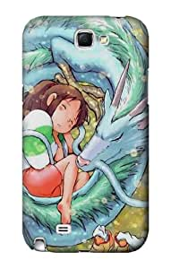 S1974 Spirited Away Chihiro Ogino Case Cover For Samsung Galaxy Note 2