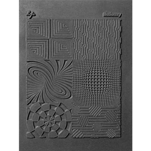 Lisa Pavelka Polymer Clay Art Supplies (Style #187) - Rubber Mold Crafting Texture Stamp - - Rubber Stamps Polymer For Clay