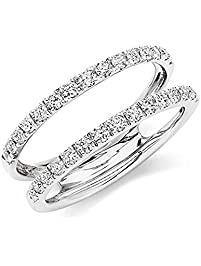 050 ct round created diamond - Wedding Ring Enhancers