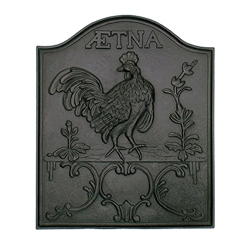 Minuteman International Aetna Cast Iron Fireback by Minuteman International