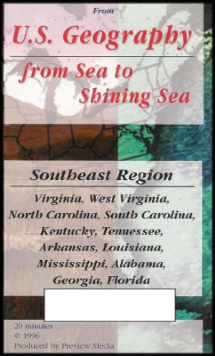 U.S. Geography: From Sea to Shining Sea (Southeast Region) VHS - Lands South Mall