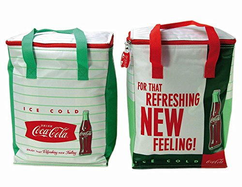 IPV 523270 Retro Coca Cola, Kühltasche 26 Liter, farblich Sortiert