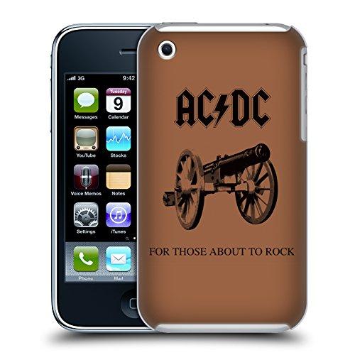 Officiel AC/DC ACDC Pour Ceux Étant Sur Le Point Rock Couverture D'album Étui Coque D'Arrière Rigide Pour Apple iPhone 3G / 3GS