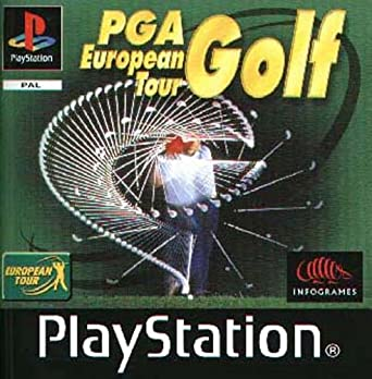 Amazon Com Pga European Tour Golf Ps By Atari Video Games
