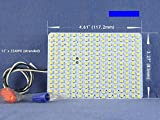 WATER-RESISTANT SOFT WHITE LED Panel (3000K) --1800Lumens 9Watts -- for Conversion of FML27W Fluorescent lamps. P/N: SPTL224FML-SW