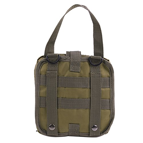 Kit Tactical MOLLE EDC Kit Pronto Soccorso, Borsa Tattica Militare Borsa da viaggio pratica multiuso
