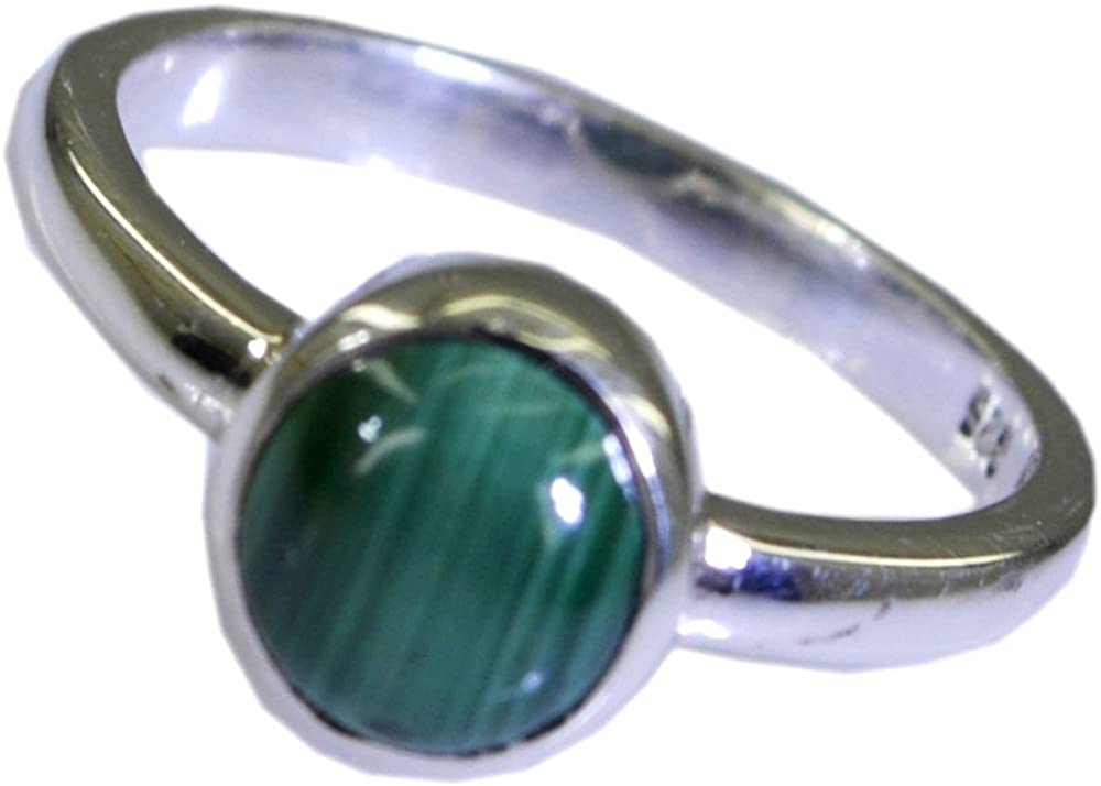 Natural Malachite Silver Ring For Women/'s,For Men/'s,Adjustable Ring Jewelry Gift,Chakra Healing Green Gemstone Size 4,5,6,7,8,9,10,11,12,13