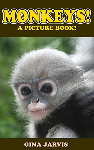 Monkeys!: A picture book of monkeys, chimps, and other primates! (Cute Pictures of Animals 3)