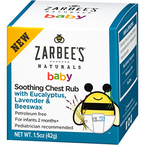 Zarbee S Naturals Baby Soothing Chest Rub With Eucalyptus