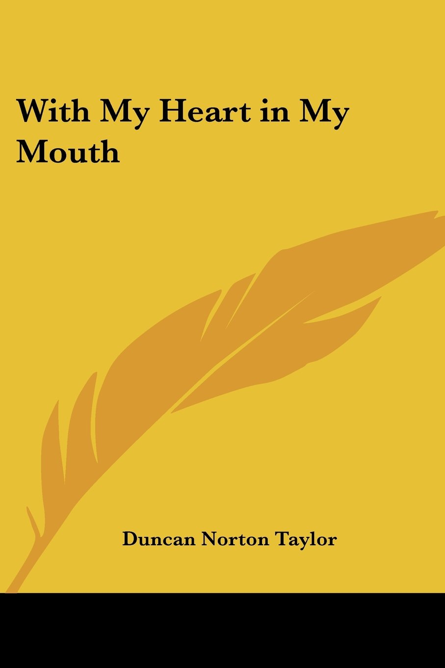 Read Online With My Heart in My Mouth pdf epub