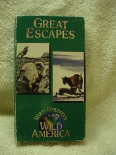 marty-stouffers-wild-america-great-escapes-vhs-video