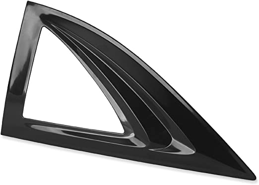 Black Finish for 1994-2003 Chevrolet S10//GMC Sonoma /& 1996-2000 Isuzu Hombre Auto Ventshade 83444 Aeroshade Louvered Window Covers