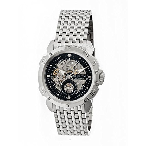 Heritor heritor automatic Carter reloj para hombre, plata: Amazon.es: Relojes