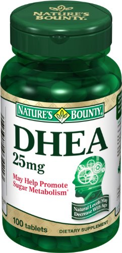 Bounty Nature DHEA 25mg, 100