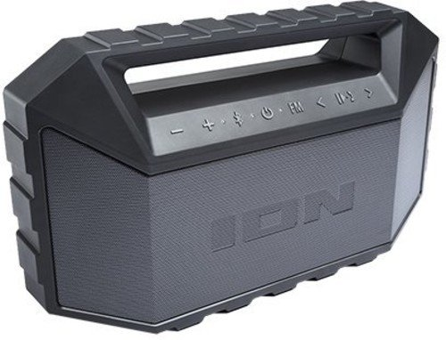 ION Audio iSP83BK Plunge Max Waterproof Stereo Boombox with Fm Radio by ION Audio
