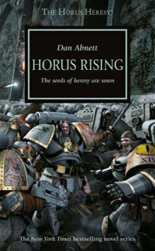 book cover of Horus Rising