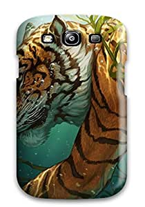 Defender Case With Nice Appearance (tiger) For Galaxy S3