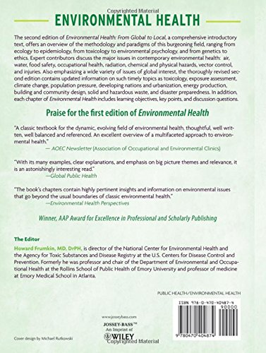 Environmental Health: From Global to Local - http://medicalbooks.filipinodoctors.org