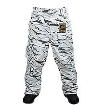 Southplay Mens Waterproof Ski-snowboard Military Pants Multi-colors