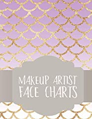 Grab this book Makeup Artist Face Charts: Notebook for Face Painting and Makeup Artists with makeup charts to feature your pro makeup or face painting designs! Use these layouts to design and customize fabulous looks with colored penci...