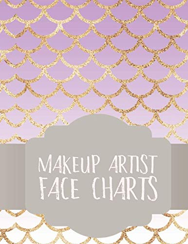 Makeup Artist Face Charts: Notebook for Face