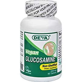 Deva-Vegan-Vitamins-Glucosamine-Tablets-90-Count-Bottle