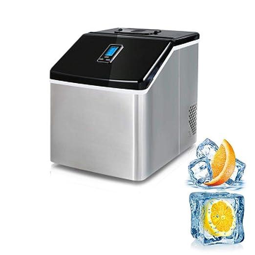 Máquina para hacer hielo Ice Make EiswÜRfel de acero inoxidable ...